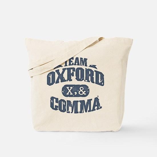 Team Oxford Comma Tote Bag