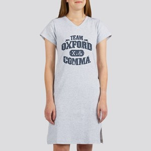 Team Oxford Comma Women's Nightshirt