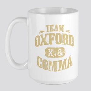Team Oxford Comma Large Mug