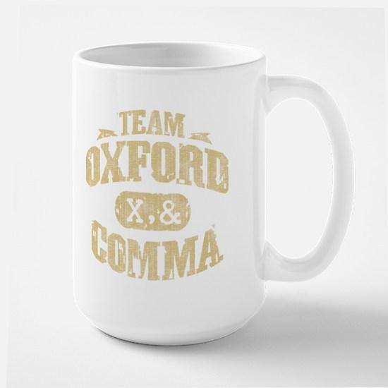 Team Oxford Comma Large Mug