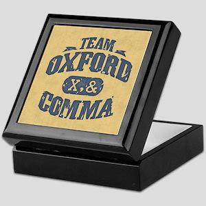 Team Oxford Comma Keepsake Box