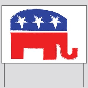repubelephant1 Yard Sign