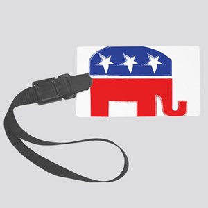 repubelephant1 Luggage Tag