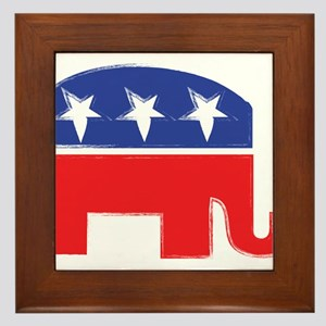repubelephant1 Framed Tile