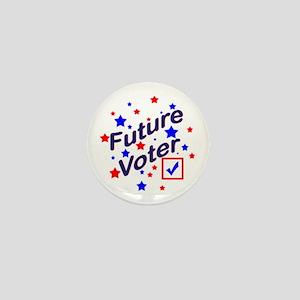 Future Voter Light Mini Button