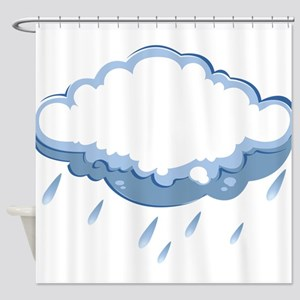 rainy2 Shower Curtain