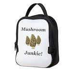 Mushroom Junkie Neoprene Lunch Bag