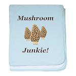 Mushroom Junkie baby blanket