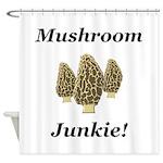 Mushroom Junkie Shower Curtain
