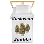 Mushroom Junkie Twin Duvet