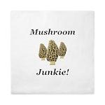Mushroom Junkie Queen Duvet