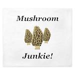 Mushroom Junkie King Duvet