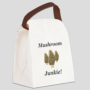 Mushroom Junkie Canvas Lunch Bag