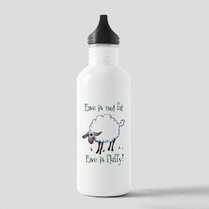 Ewe is not Fat Water Bottle