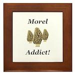 Morel Addict Framed Tile
