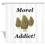 Morel Addict Shower Curtain
