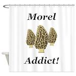 Morel Addict Shower Curtain