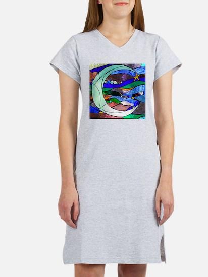 Crescent Moon Women's Nightshirt
