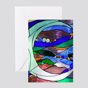 Crescent Moon Greeting Cards