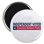 Independent Voter Blue Red 2.25