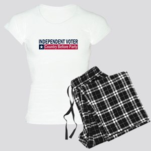 Independent Voter Blue Red Women's Light Pajamas