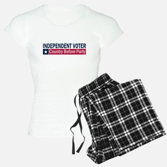 Independent Voter Blue Red Pajamas