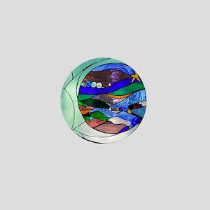 crescentmoon Mini Button