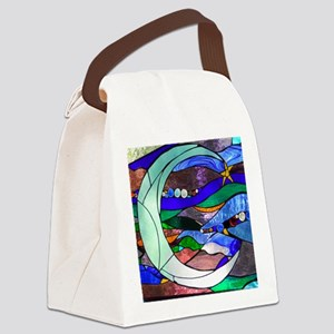 crescentmoon Canvas Lunch Bag