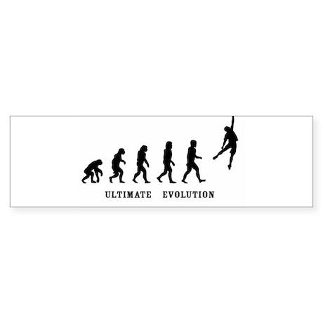 ultimate evolution.jpg Bumper Sticker