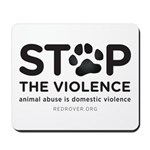 STOP THE VIOLENCE Mousepad