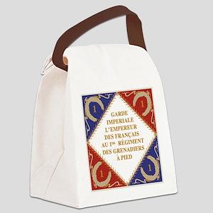Napoleon's Guard flag Canvas Lunch Bag