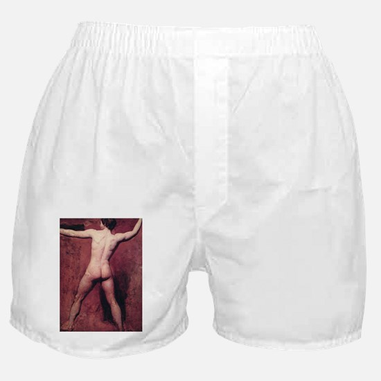 Academic Male Nude Boxer Shorts