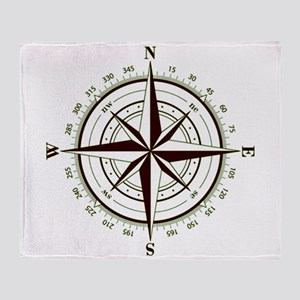 Custom Navigator's Compass Throw Blanket!
