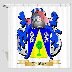 De Boer Shower Curtain