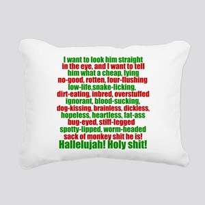 Clark Griswold Speech Rectangular Canvas Pillow