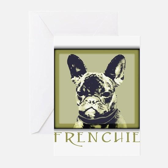 Frenchie Caeldera Greeting Cards