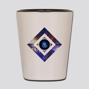 Eye of the Galaxy Shot Glass