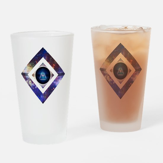 Eye of the Galaxy Drinking Glass