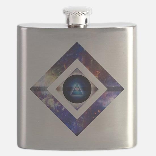 Eye of the Galaxy Flask