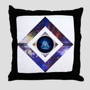 Eye of the Galaxy Throw Pillow