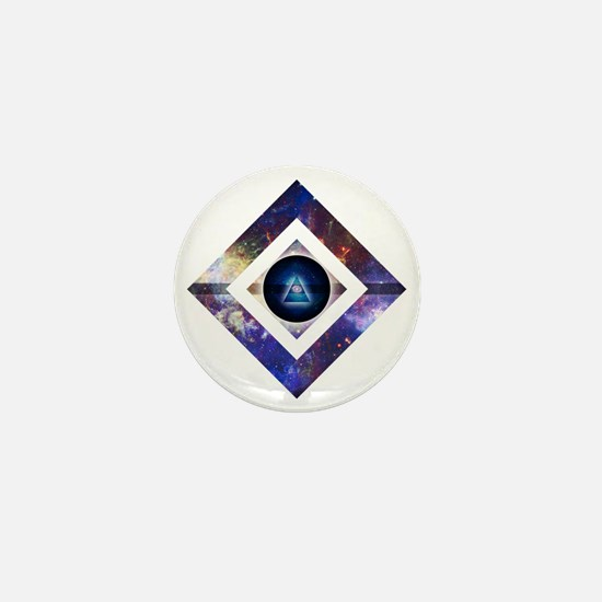 Eye of the Galaxy Mini Button