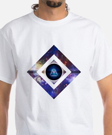 Eye of the Galaxy White T-Shirt