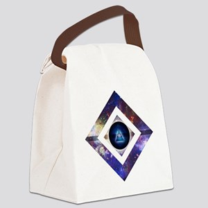 Eye of the Galaxy Canvas Lunch Bag