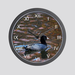 Groovy Coot Wall Clock