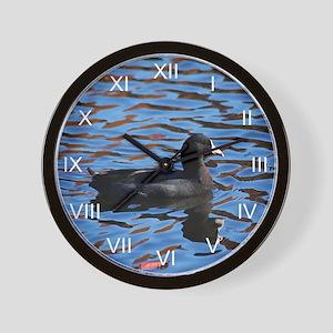 Rhapsody Of Coot Wall Clock