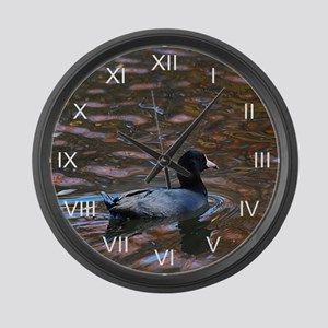 Groovy Coot Large Wall Clock