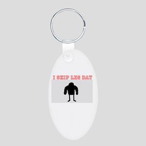 Skip Leg Day Keychains