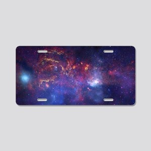 Space Aluminum License Plate