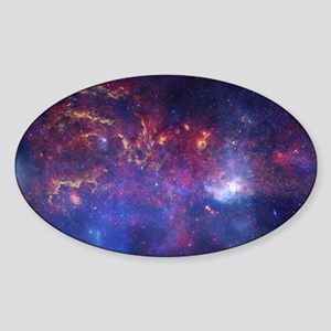 Space Sticker (Oval)