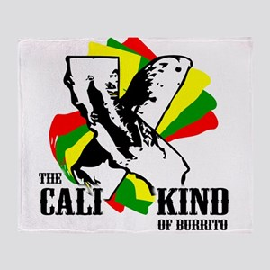 The Cali Kind of Burrito Throw Blanket